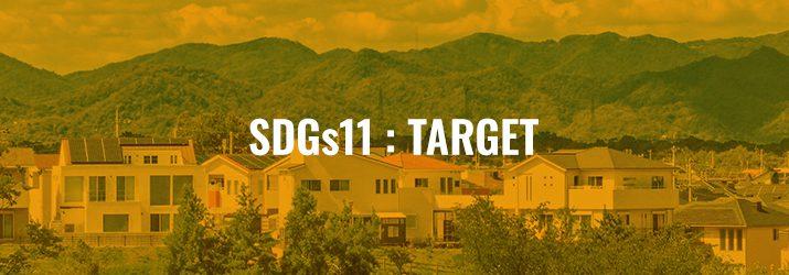SDGs11ターゲット
