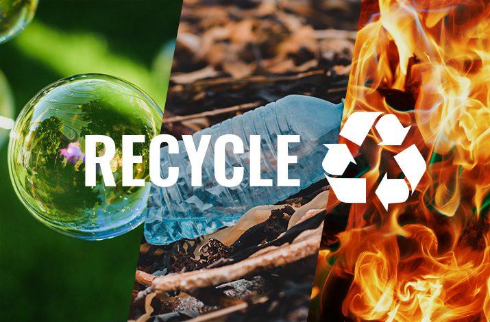 リサイクルには3つの方法がある