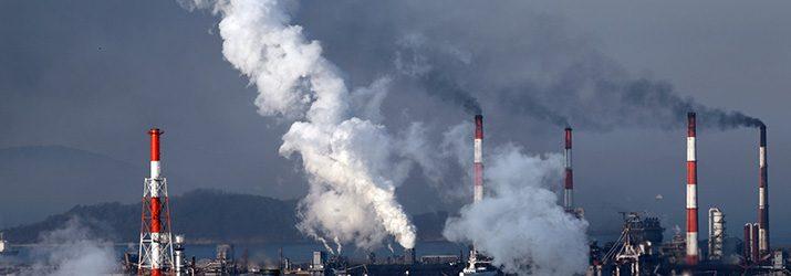 人間活動によって温室効果ガスが増加