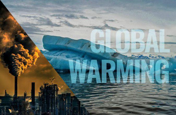 温室効果ガスの増加によって起こる地球温暖化