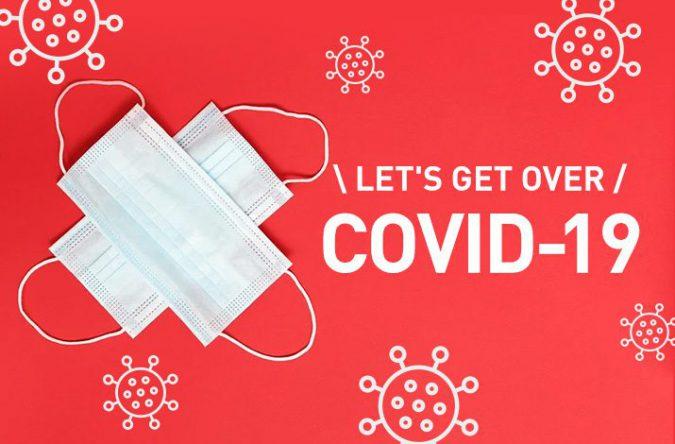 新型コロナウイルスを乗り越えよう。私たちの心と身体を守るために。