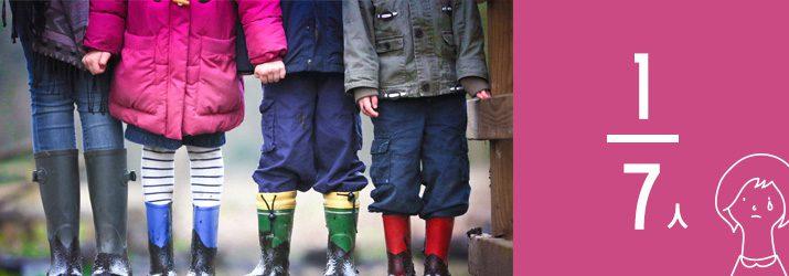 日本でも増え続ける子どもの貧困