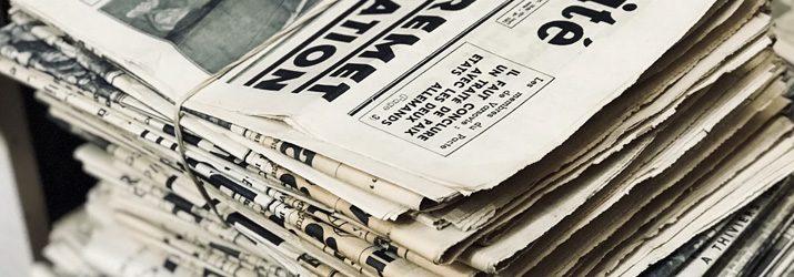 新聞紙の活用アイデア