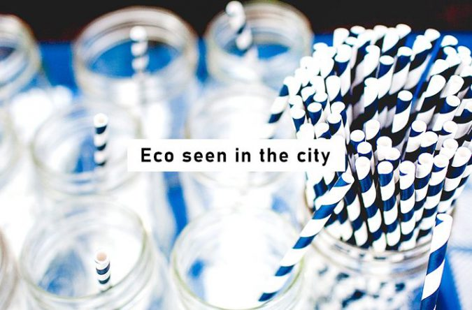 街で見かけるエコにはどんなものがある?